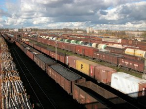 Железнодорожные перевозки сборных грузов из Китай в Россию